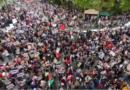 সেন্ট্রাল লন্ডনে প্রায় ২০০,০০০ মানুষের  'মুক্ত প্যালেস্তাইন' বিক্ষোভ