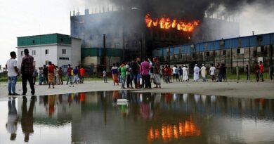 বাংলাদেশে অগ্নিকাণ্ড: কারখানার মালিক গ্রেফতার